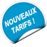 nouveaux tarifs