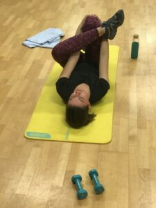HIIT, stretching